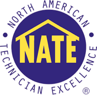 we only have NATE certified technician on staff